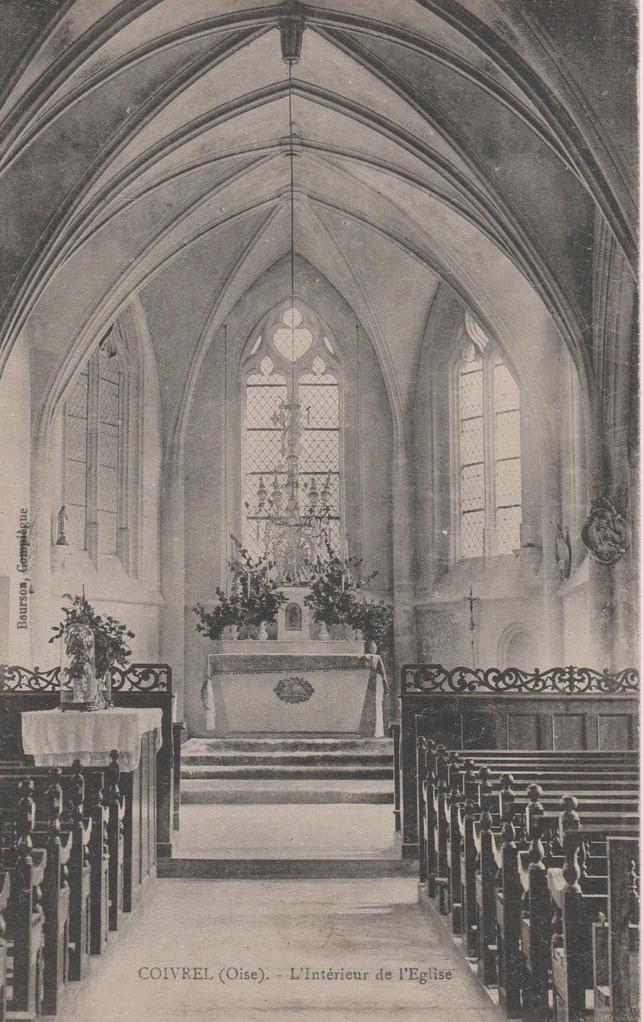 L'Intérieur de l'Eglise (collection particulière)