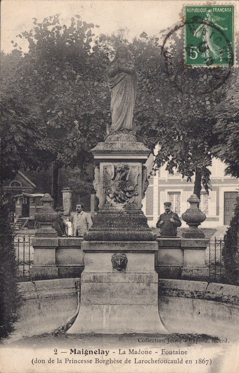 La Madone, don de la princesse Borghèse