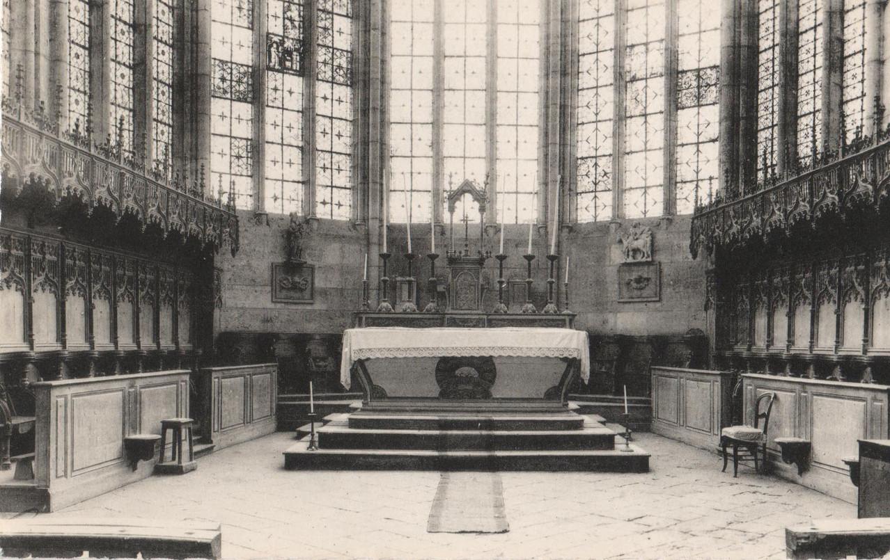 Chœur de l'église (collection particulière)