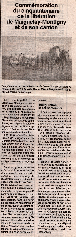 Le Bonhomme picard du 12 août 1994