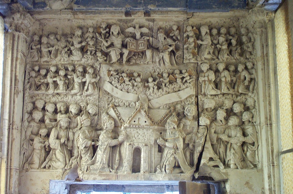 Le retable de la chapelle (photo DD)