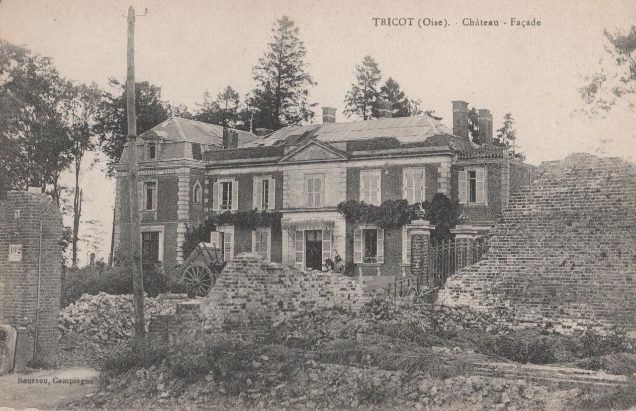 Château - Façade (collection particulière)