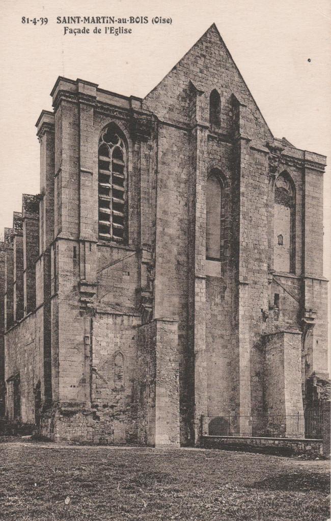 Façade de l'Eglise (collection particulière)