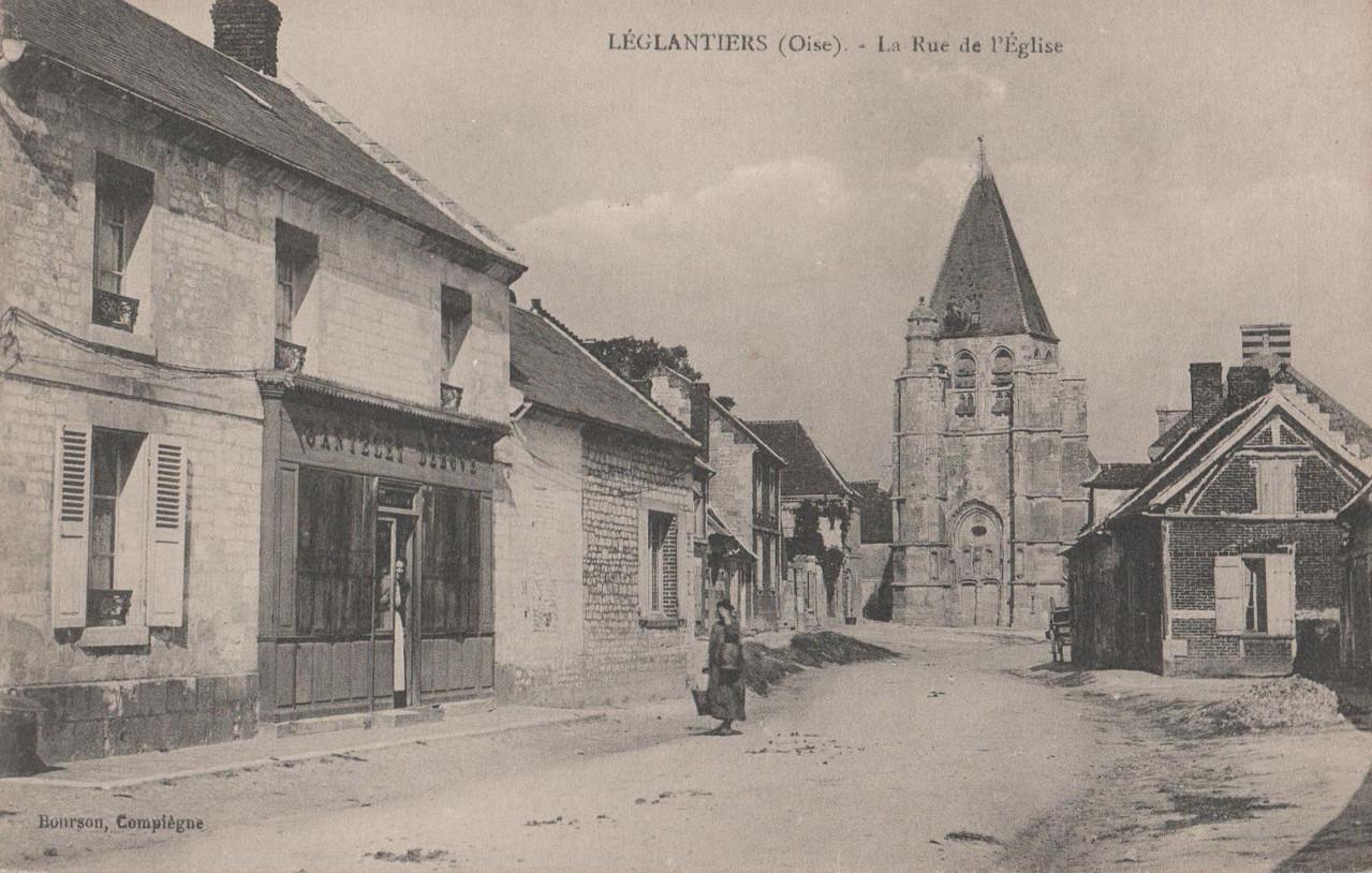 La Rue de l'Eglise (collection particulière)