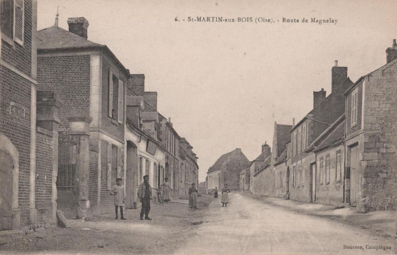 Route de Maignelay (collection particulière)
