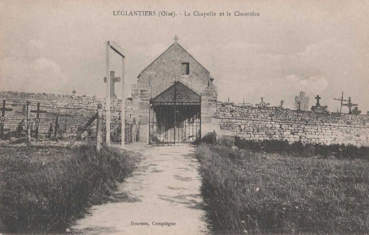 La Chapelle et le Cimetière (collection particulière)