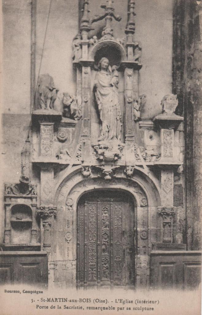 Porte de la sacristie (collection particulière)