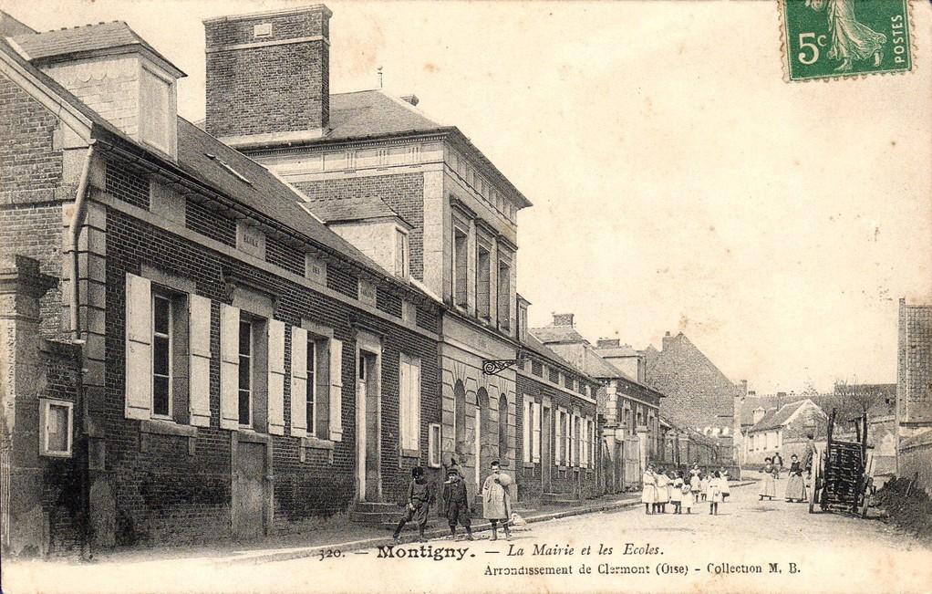 Mairie, écoles