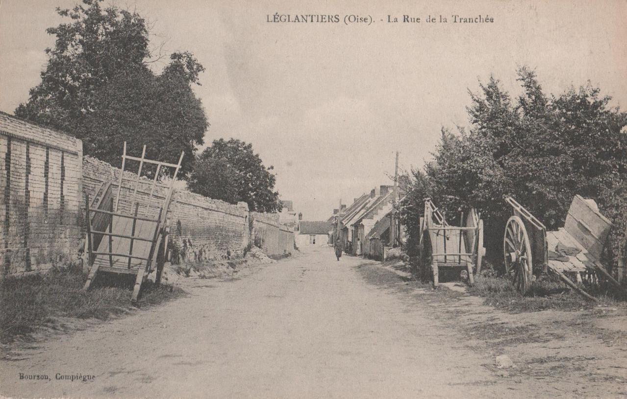 La Rue de la Tranchée (collection particulière)