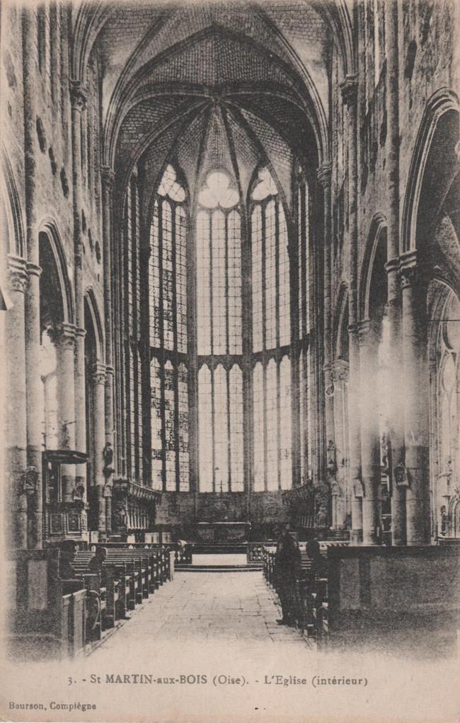 L'Eglise intérieur (collection particulière)