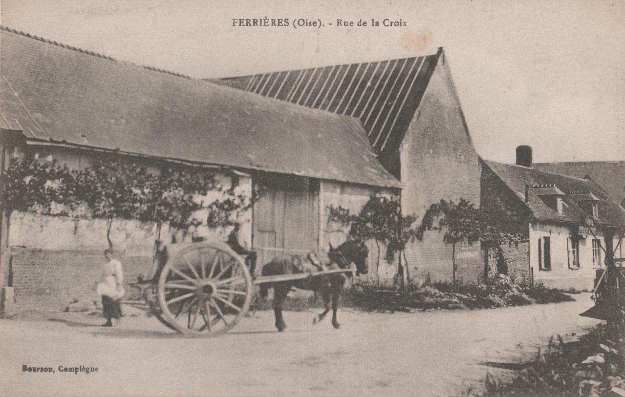 Rue de la Croix (collection particulière)
