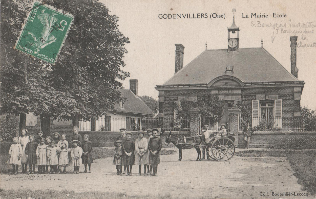La Mairie. Ecole (collection particulière)