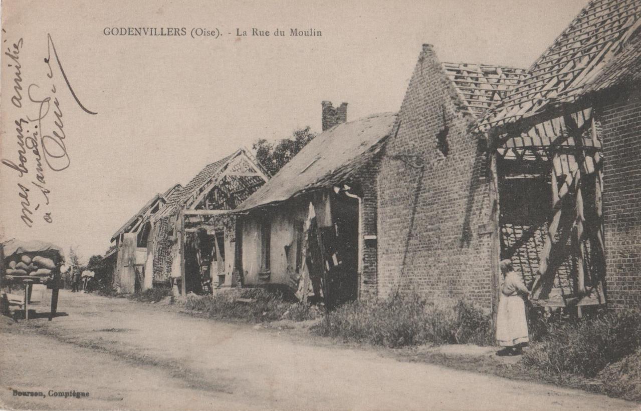 La Rue du Moulin (collection particulière)