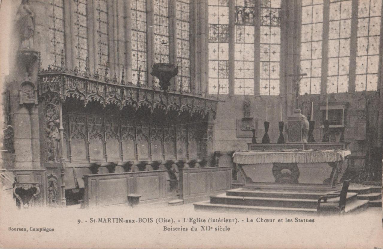 Le Chœur et les Statues (collection particulière)