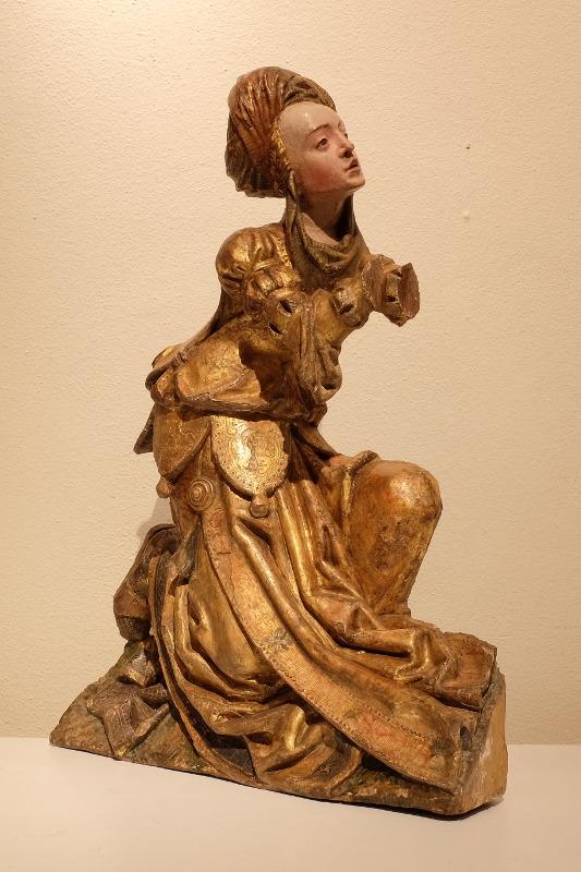 Statue de Sainte-Véronique