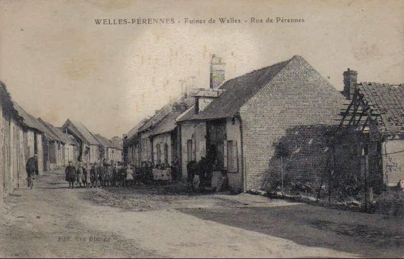 Welles, rue de Pérennes