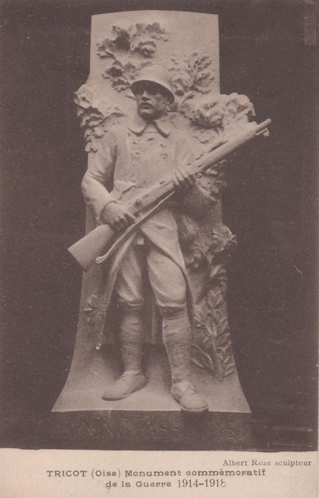 Monument commémoratif de la Guerre 1914-1918 (collection particulière)
