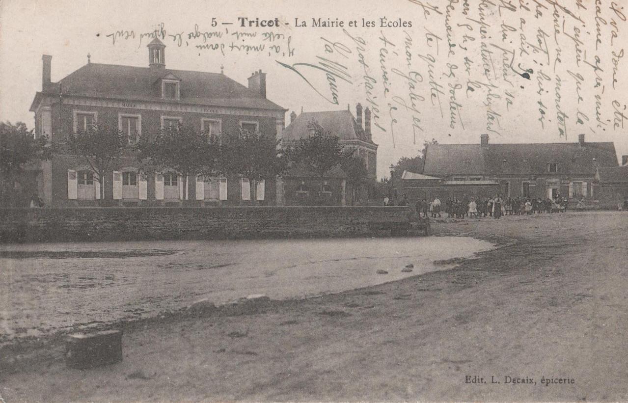 La Mairie et les Ecoles (collection particulière)