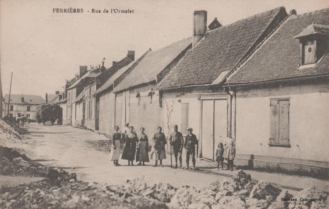 Rue de l'Ormelet (collection particulière)