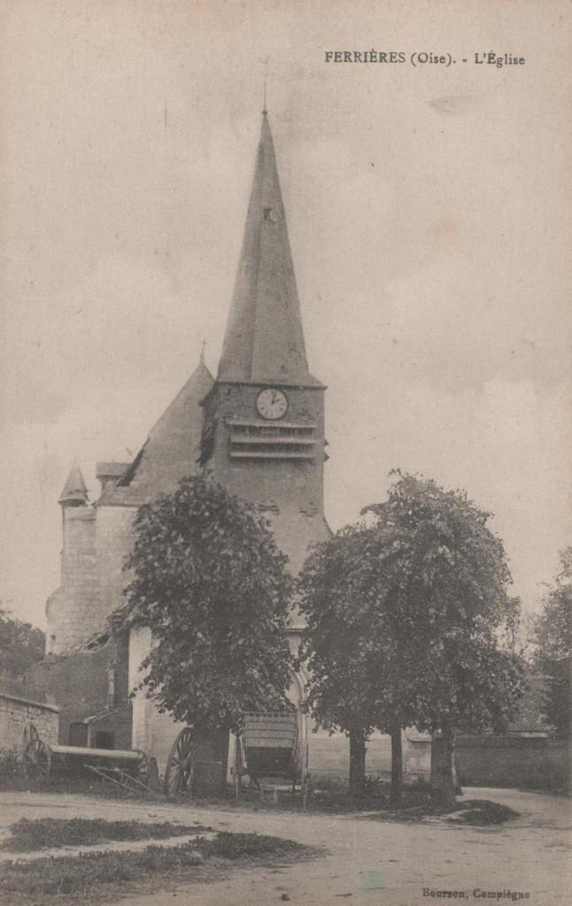 L'église (collection particulière)
