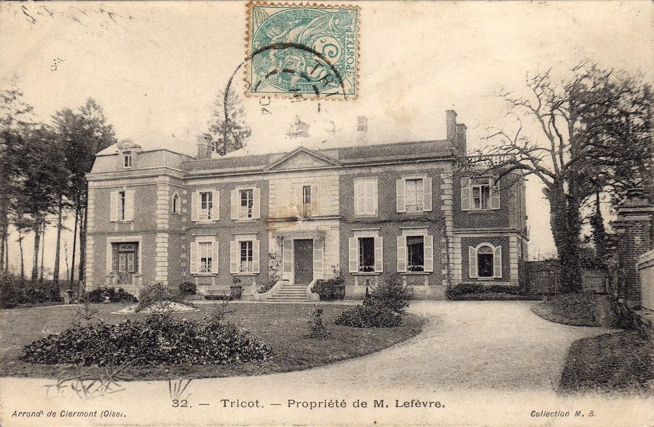 Propriété de M. Lefevre (collection particulière)