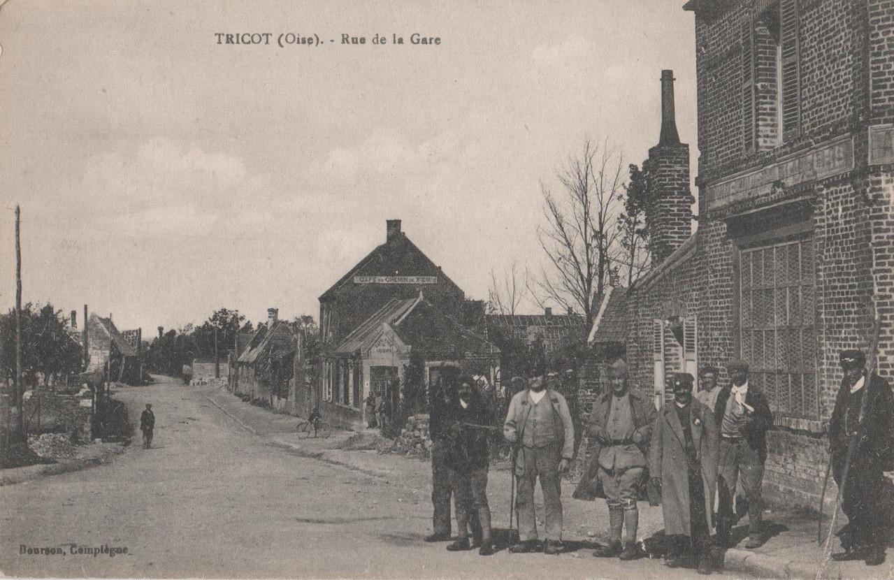 Rue de la Gare (collection particulière)
