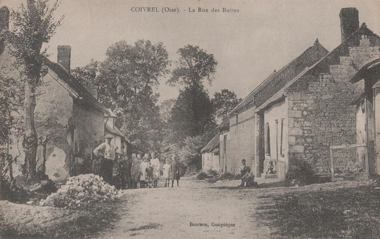 La Rue des Buttes - aujourd'hui rue des Battes (collection particulière)