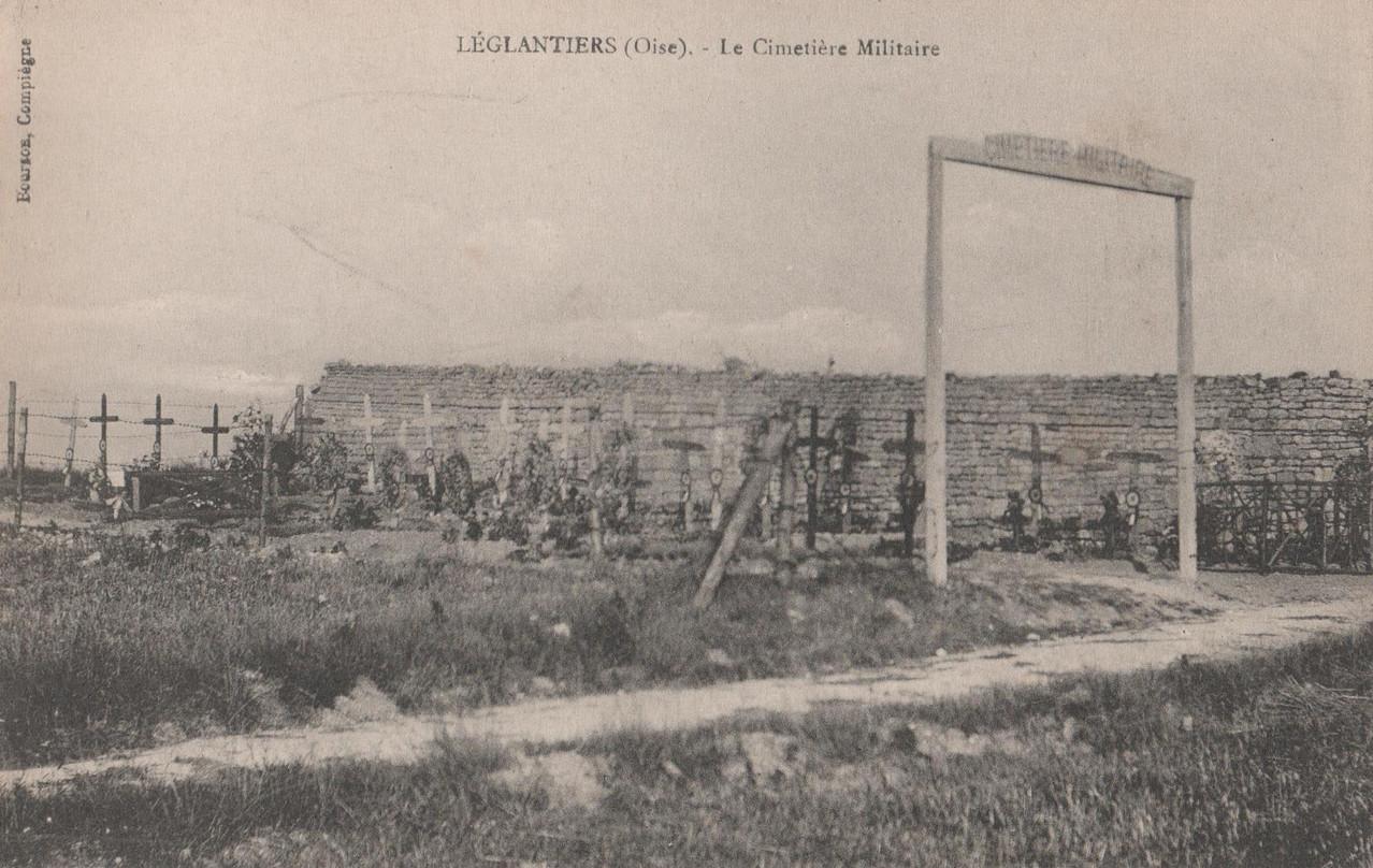 Le Cimetière Militaire (collection particulière)