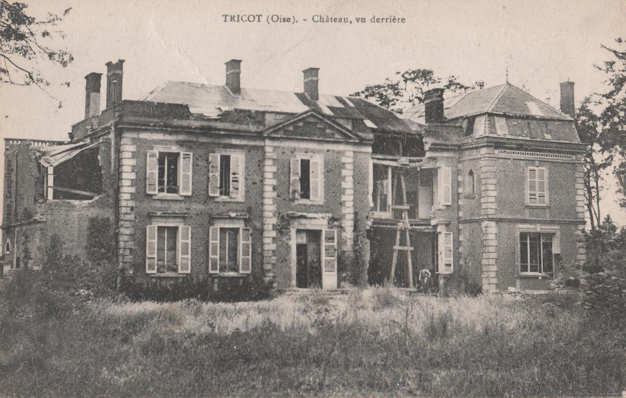 Château, vu derrière (collection particulière)