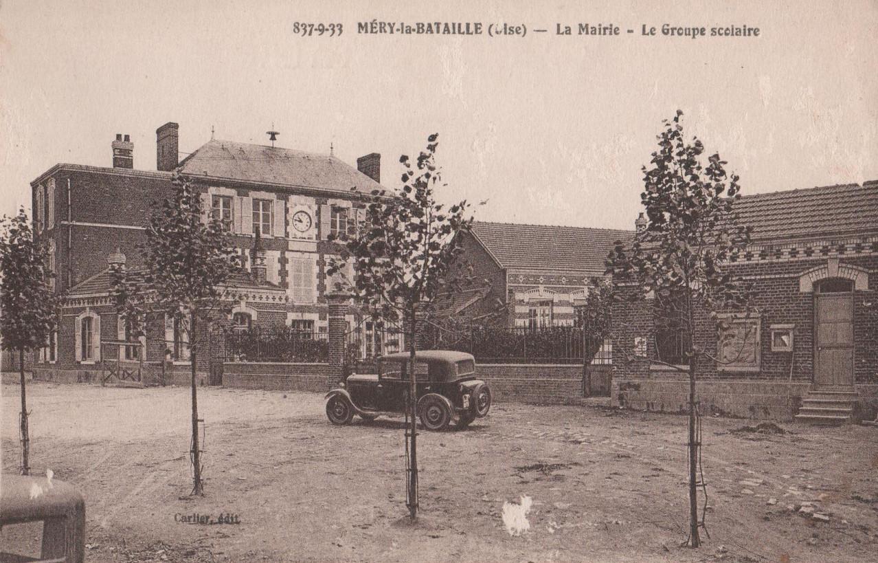 La Mairie - Le Groupe Scolaire (collection particulière)