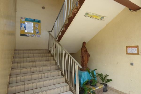 Escalier classes 6ème & 5ème
