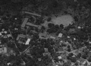 Vue aérienne en 1970