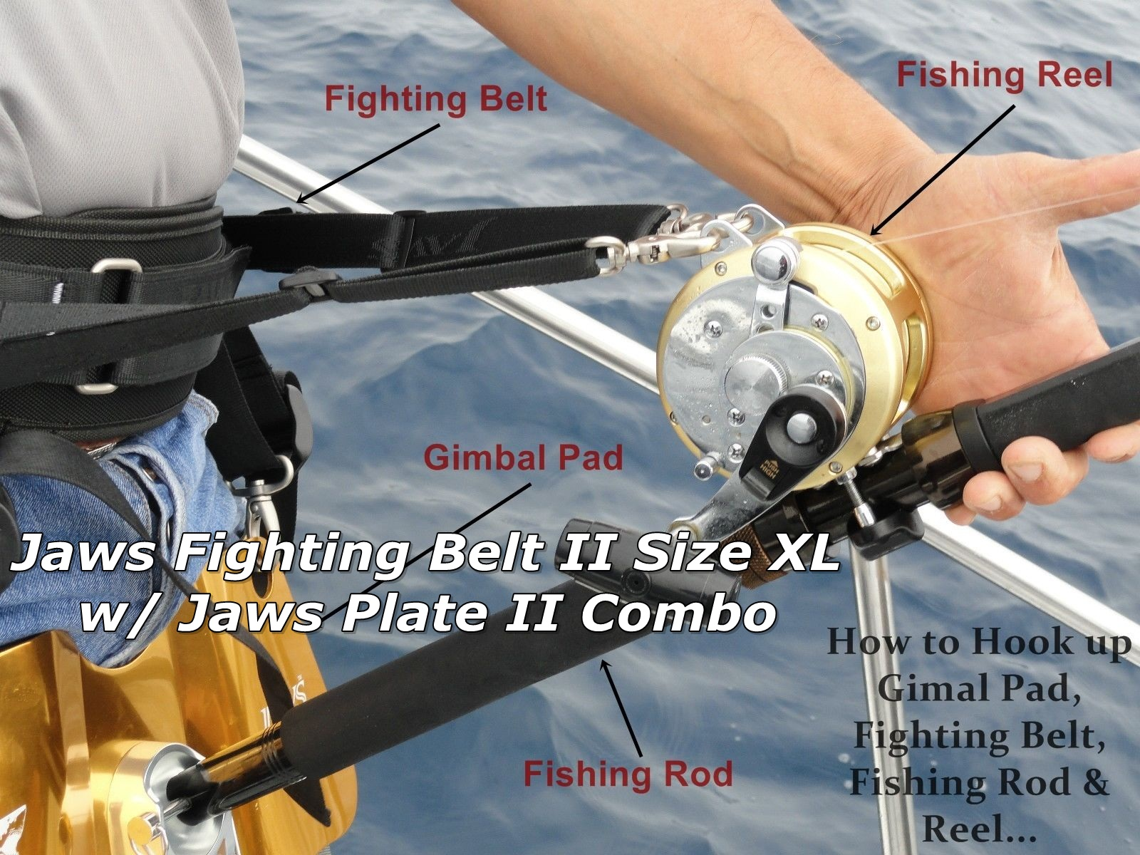 Flighting Belt Size XL with Gimbal Pad II