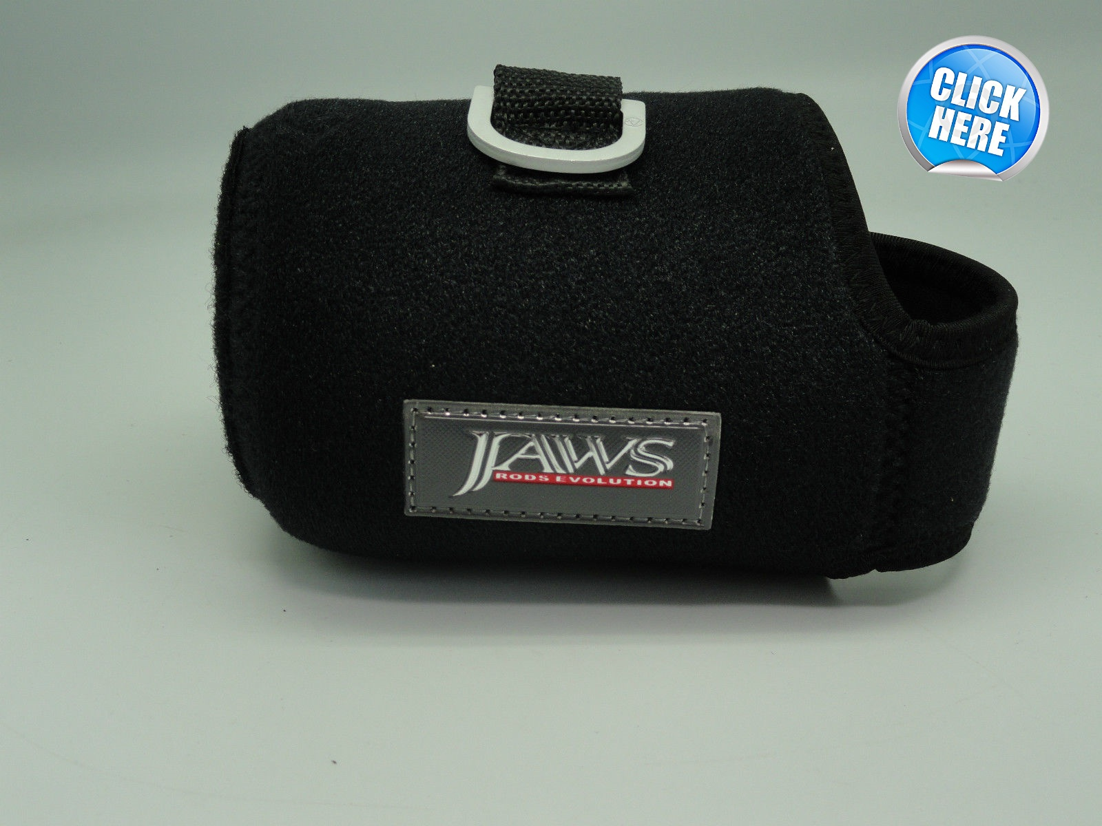 Jaws Reel Cover - Black - Size L