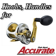 We will help you to choose a suitable Ultimate Jigging reel knob & T Bar!