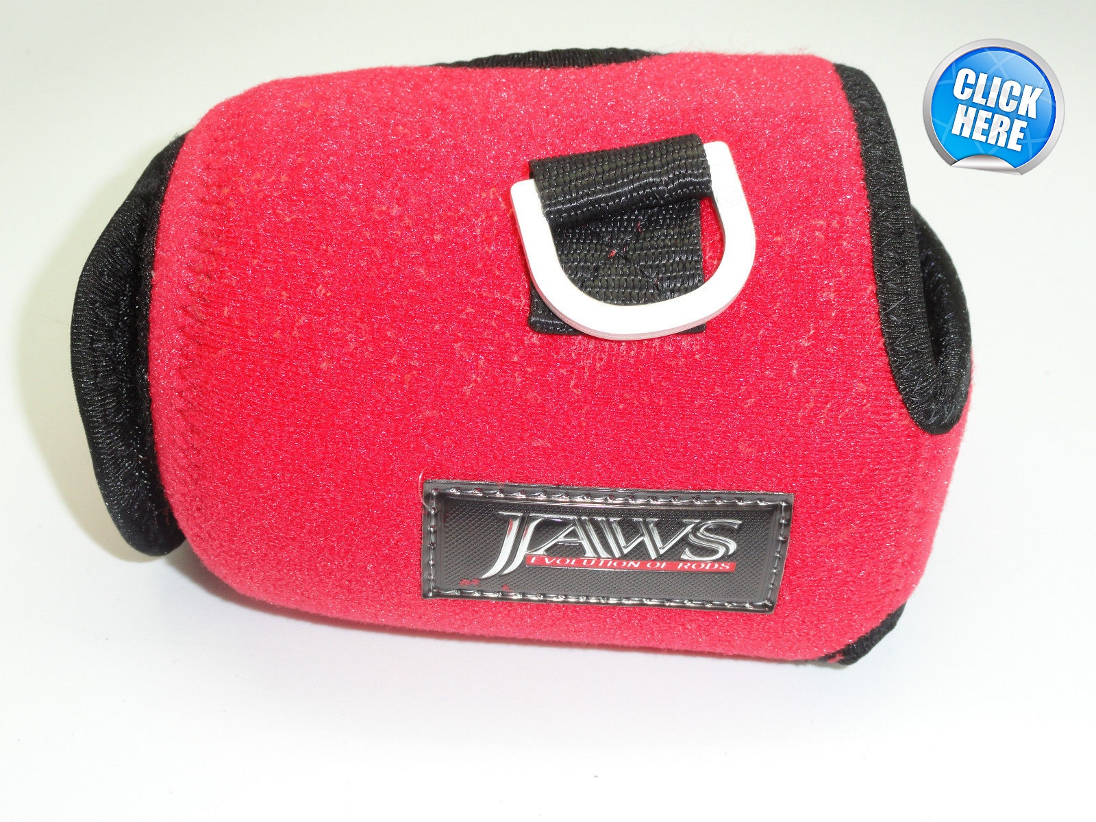 Jaws Reel Cover - Red - Size L