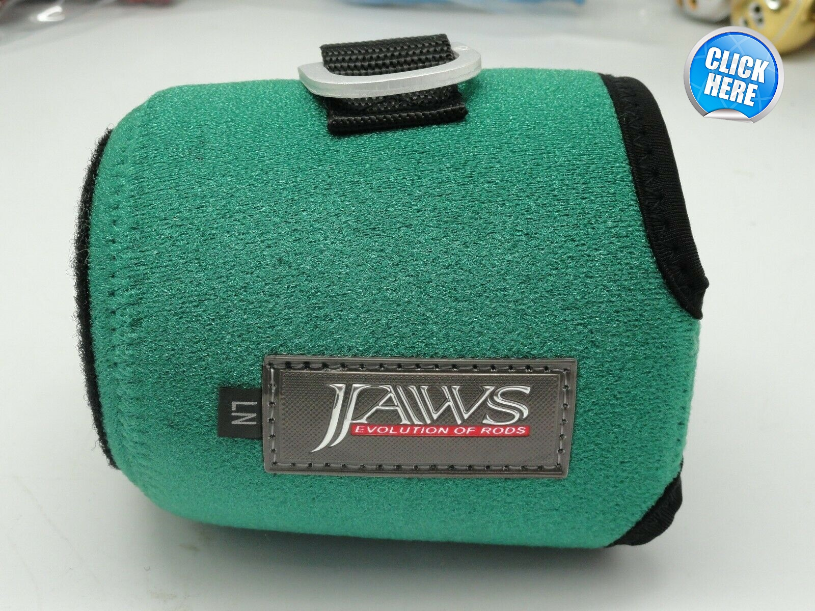 Jaws Reel Cover - Green - Size LN