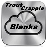 Jaws Trout/ Crappie Rod Blanks