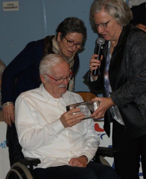 Trophée d'Honneur à Gérard Morel OSCP