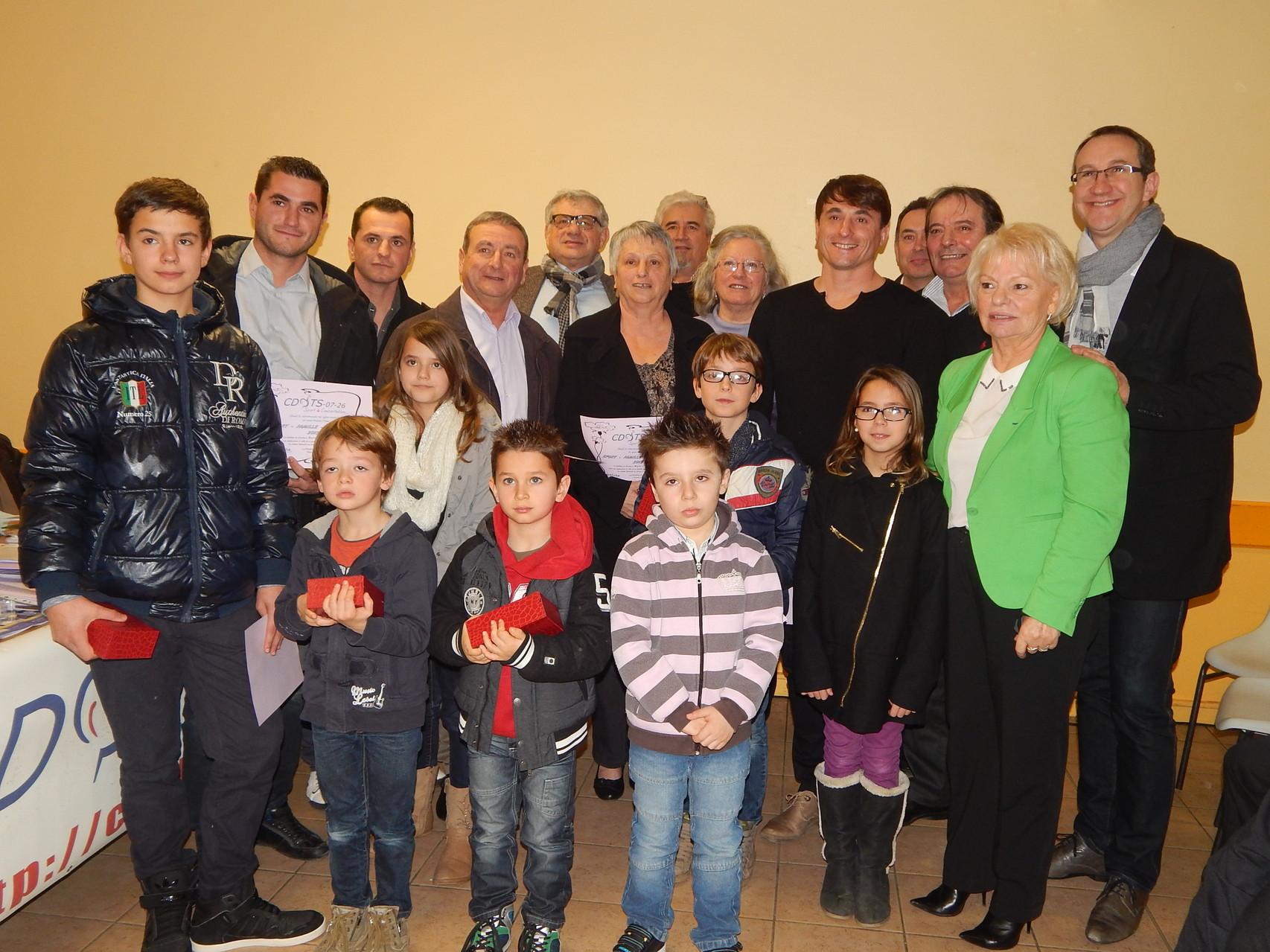 Famille Ponsot, O.Durand et Pierre-Jean Veyret