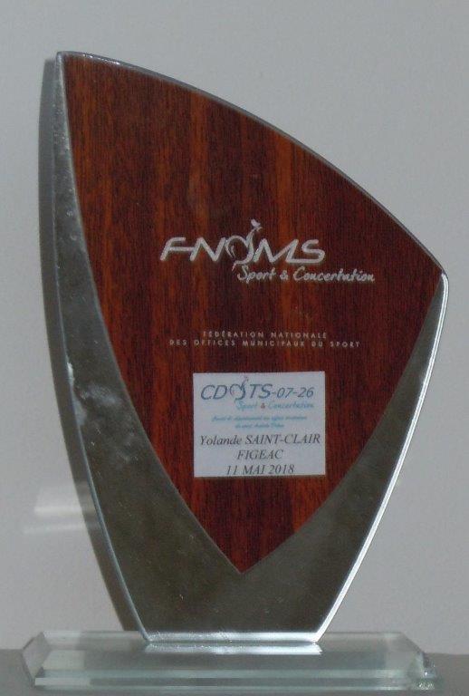 Récompense au CDOTS 07-26