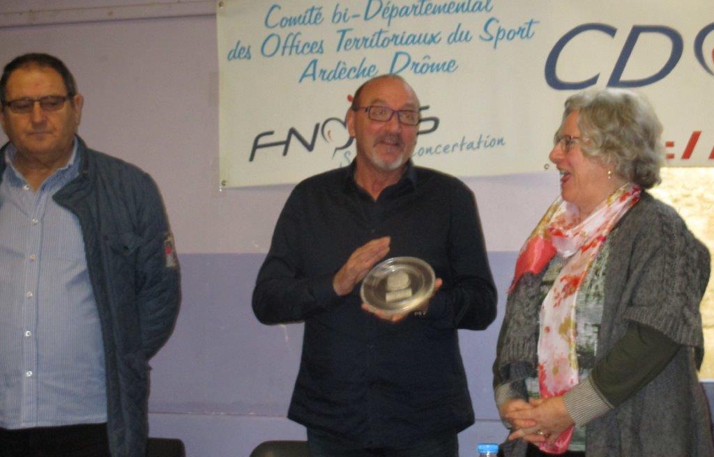 Le trophée rend  J.P.Maubert anthousiaste