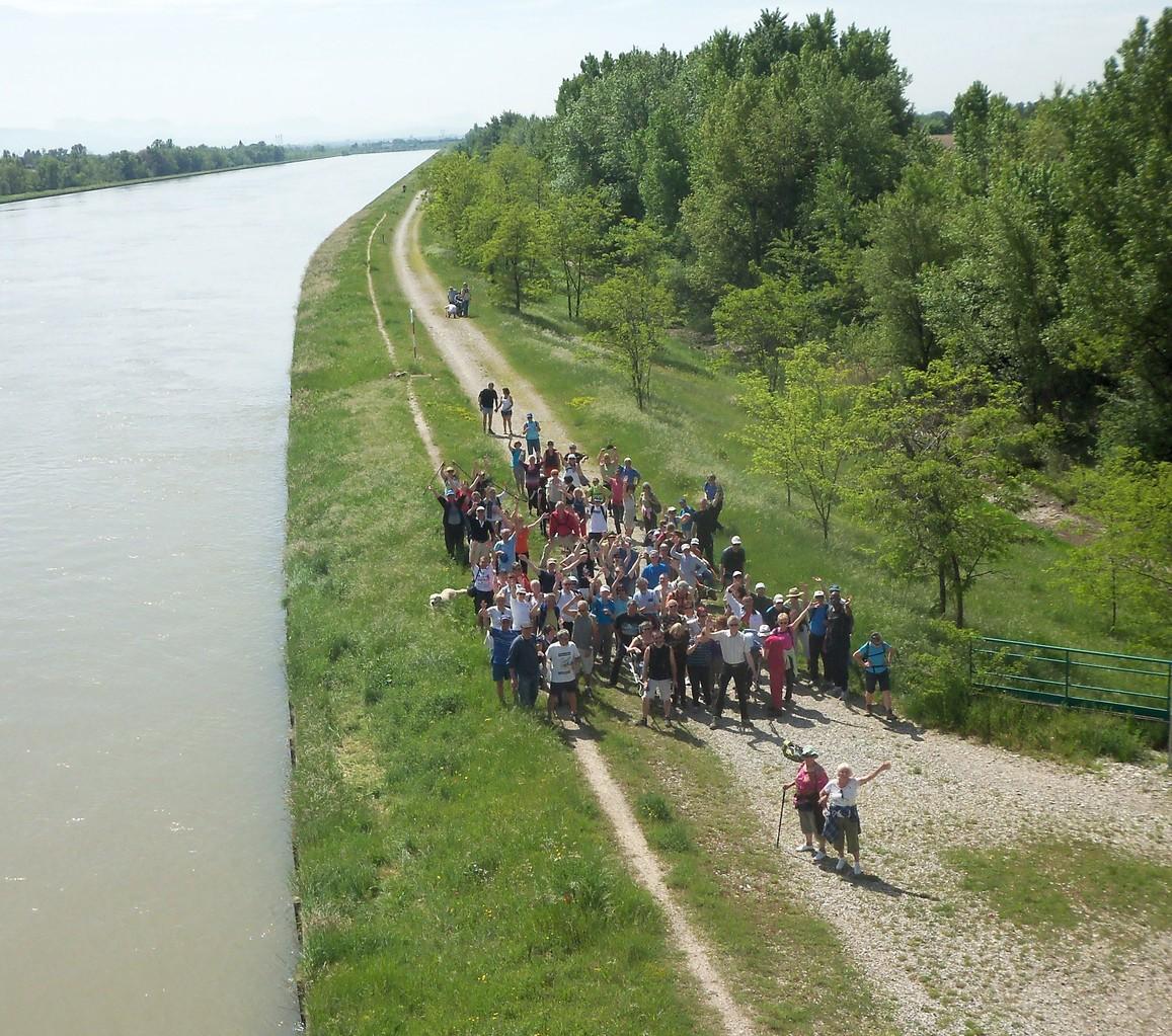 Rando le long du Rhône.