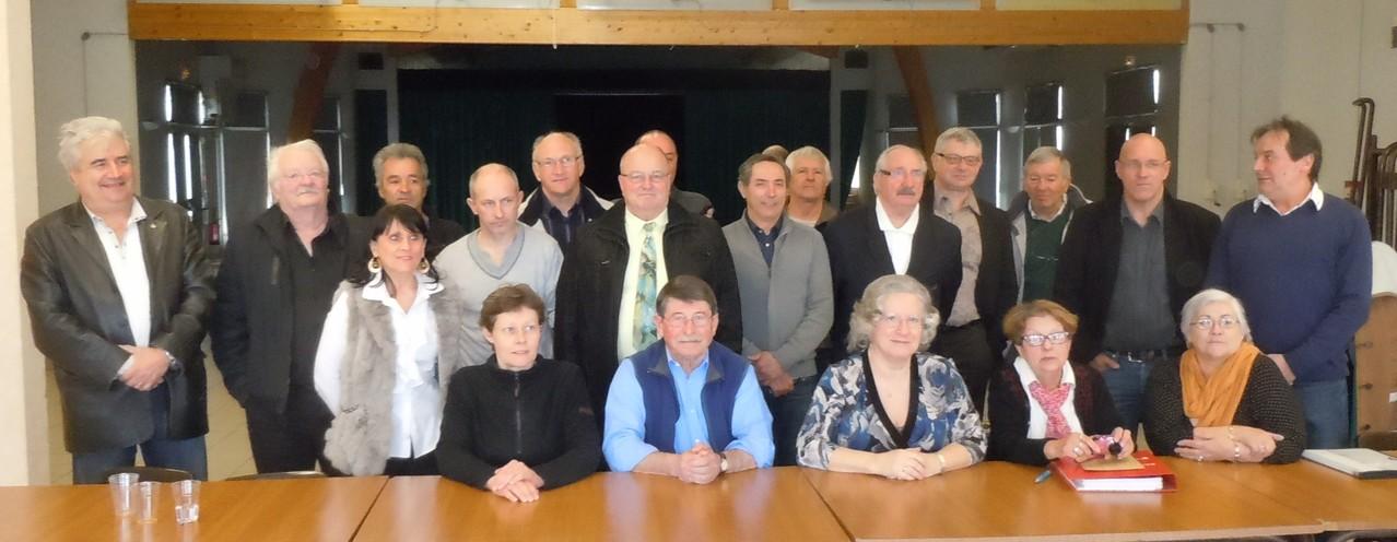 Le conseil d'administration et les invités