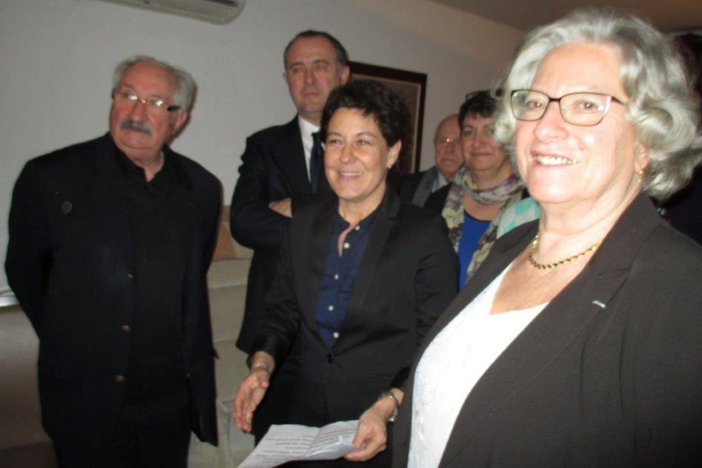 Jean-Marc, Didfier, Nathalie et Yolande