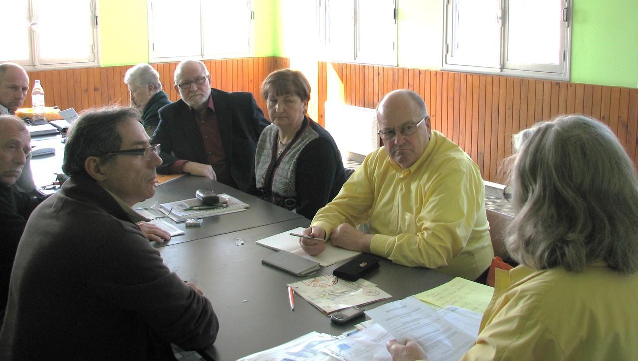 CA-Savasse 20120303  Séance de travail avec M. le Maire