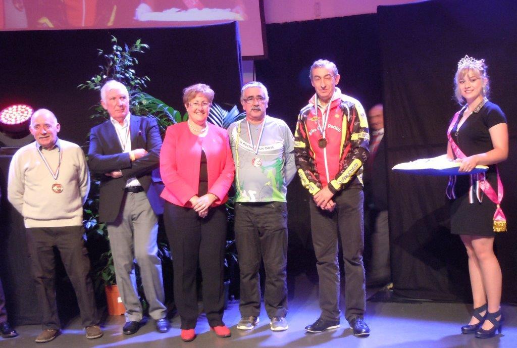 P.Pallesi,C.Chapuis, Mme le Maire de PLV, F.Girard, J.Jouve et Miss PLV