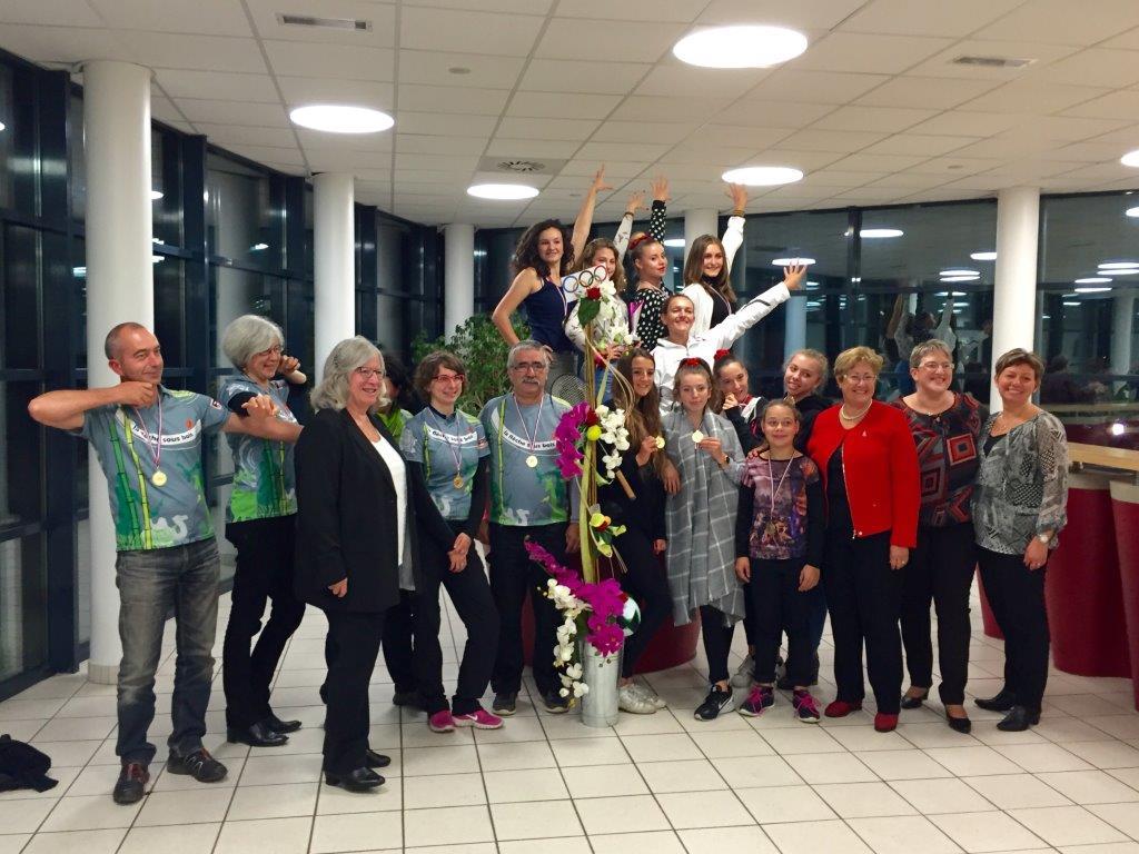 Equipes de Portes-lès-Valence récompensées