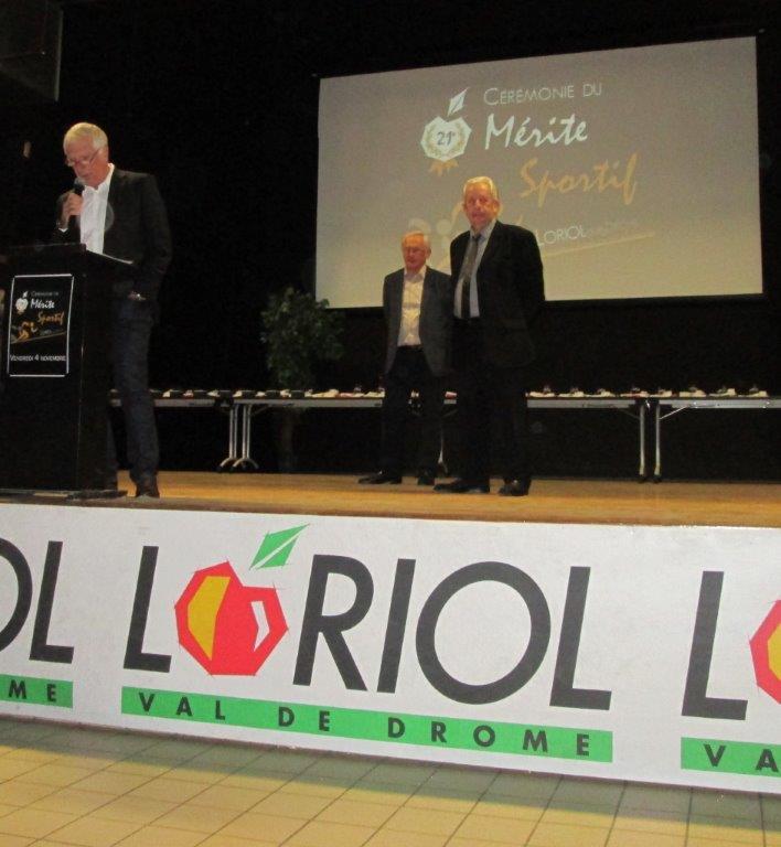 présentation de la soirée par C.Chapuy président de l'OMLoriolais
