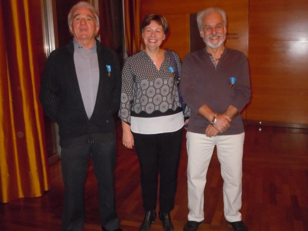 M.FAUBREJON, K.ODE et JM.MARTEL